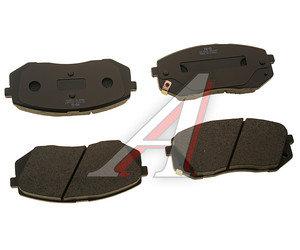 Колодки тормозные KIA Sportage (05-),Carens (06) передние (4шт.) SANGSIN SP1196, GDB3461, 58101-1DE00