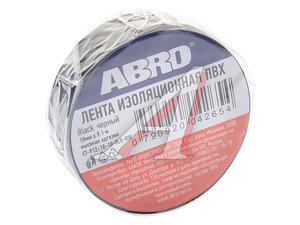 Изолента ПВХ черная 19ммх9.1м ABRO ABRO EP-912 ч, ET-912-R