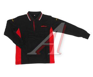 Рубашка-поло мужская с длинным рукавом, размер L (65% хлопок, 35% полиэстер) JTC JTC-D02L