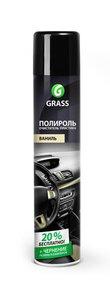 Полироль пластика глянцевая ваниль 750мл GRASS GRASS, 120107-4