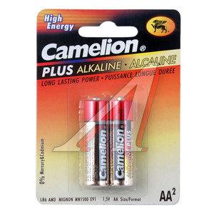 Батарейка AA LR6 1.5V блистер (2шт.) Alkaline Plus CAMELION C-LR6P(2)бл
