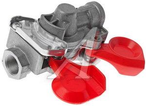 Головка соединительная тормозной системы прицепа 22мм (грузовой автомобиль) красная комплект WABCO 452 200 011 0/211 0 (красная), 400 604 327 0, 452.200.011.0