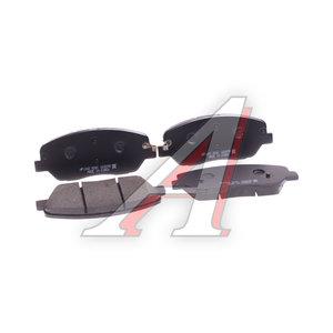 Колодки тормозные KIA Mohave (08-) передние (4шт.) HSB HP1042, GDB3418, 58101-2JA00