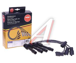 Провод высоковольтный OPEL Astra комплект NGK 4069, ZEF725