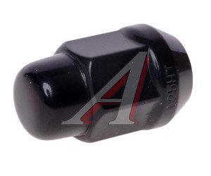 Гайка колеса М12х1.25х35 конус закрытая ключ 19мм черный хром TPI B401444HT/BC-20