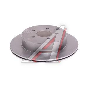 Диск тормозной NISSAN Murano (Z50) задний (1шт.) KORTEX KD0190, DF4353, 43206-CA000