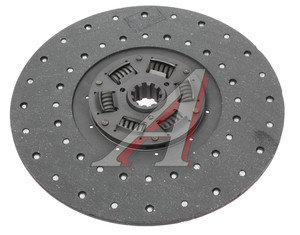 Диск сцепления ЗИЛ-130,5301 универсальный ТРИАЛ 130-1601130у, 71.130-1601130-02, 130-1601130