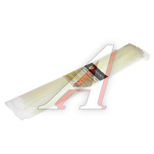 Хомут-стяжка 500х5.0 пластик белый (100шт.) ЭВРИКА ER-05500, CHS-5x500W-100