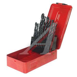 Сверло набор SPARTA по металлу 1-10мм 21шт. 723755