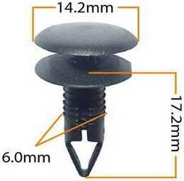 Пистон обивки универсальный KJ-1041 MASUMA KJ-1041