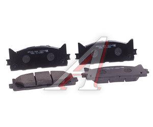 Колодки тормозные TOYOTA Camry V40 (06-) LEXUS ES350 (06-) передние (4шт.) HSB HP5242, GDB3429, 04465-06080