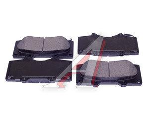 Колодки тормозные MITSUBISHI Pajero 4 (07-) TOYOTA Land Cruiser Prado (03-) передние (4шт.) SANGSIN SP2033, GDB3364, 4605A472