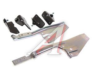 Кронштейн КАМАЗ-ЕВРО крепления панели облицовки радиатора рестайлинг (4 наименования) комплект 63501-8401020/21-26/27, 63501-8401020