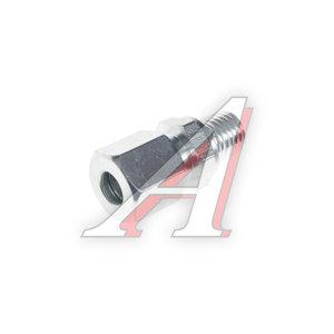 Штуцер соединительный прямой M12х8мм (фитинг резьбовой-гайка) сталь PE 07601210A, 8938002342