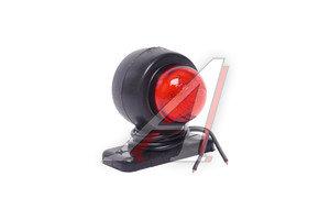 Фонарь габаритный и контурный белый/красный 12/24V (стойка малая, светодиод) ЕВРОСВЕТ ГФ3.21LED