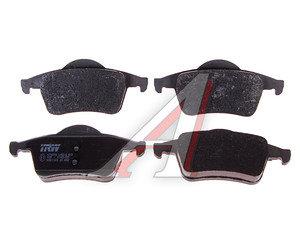 Колодки тормозные VOLVO S60, S70, S80 задние (4шт.) TRW GDB1389, 3064838-2