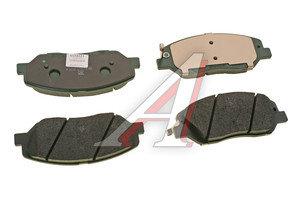 Колодки тормозные SSANGYONG Actyon (10-) передние (4шт.) OE 48130341A0, GDB3418