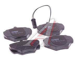 Колодки тормозные LAND ROVER Discovery (89-98) задние (4шт.) TRW GDB976