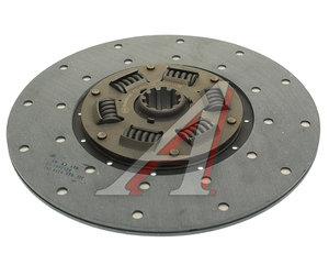 Диск сцепления ГАЗ-52 тканная накладка, усиленный ТРАНСМАШ 52-1601130, ТМ52-1601130