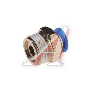 """Фитинг для пластиковых трубок 3/8"""" 6мм с наружной резьбой ROCK FORCE RF-SPC06-03"""