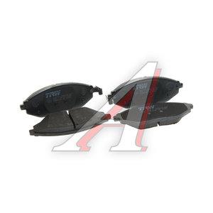 Колодки тормозные CHEVROLET Spark (10-) передние (4шт.) TRW GDB4606, 96682858