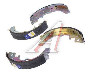 Колодки тормозные ВАЗ-1111 задние (4шт.) Начало 1111-3502090Н, 1111-3502090