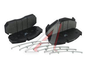 Колодки тормозные RENAULT MAN передние/задние (250х118х28мм) (4шт.) KORTEX TR02113, 29030/29053/GDB5065/GDB5000/960956/882211, 5001854342