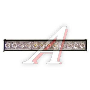 Маяк светодиодный 12V внутрисалонный Red/Blue 12 LED 50х280мм GLIPART GT-53110RB
