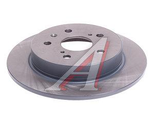Диск тормозной SUZUKI SX4 задний (1шт.) BLUE PRINT ADK84335, N3318004, 55611-55L00