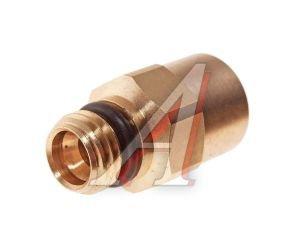 Соединитель трубки ПВХ,полиамид d=8мм (наружная резьба) М12х1.5 прямой латунь CAMOZZI 9512 8-M12X1.5, 893 800 007 2