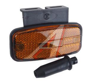Фонарь габаритный со световозвращающим Б/Л, оранжевый с кронштейном ЕВРОСВЕТ ГФ1-27К