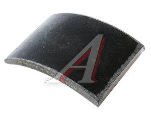 Накладка тормозной колодки ЗИЛ-130 задней Wшир.=140мм;Lдуги=204мм;hтолщ.=14/19мм АТИ 130-3502105, 130-3502105 В (з.), 4331-3502105