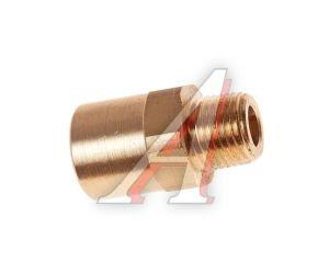 """Соединитель трубки ПВХ,полиамид d=6мм G наружный 1/8"""" прямой латунь CAMOZZI 9510 6-02, 9510 6-02-C"""
