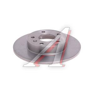 Диск тормозной OPEL Astra H задний (1шт.) BREMBO 08.7627.10, DF4051, 0569109