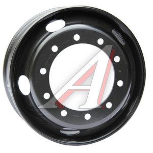 Диск колесный КАМАЗ-ЕВРО (7.5х22.5) дисковый для бескамерной шины (ОАО КАМАЗ) 750-3101012