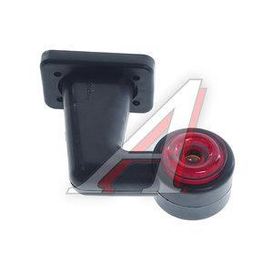 Фонарь габаритный и контурный LED 12/24V белый/красный солнышко ЕВРОСВЕТ ГФ3.8LED3солнышко