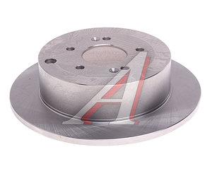 Диск тормозной HYUNDAI Santa Fe (06-) задний (1шт.) VALEO PHC R1076, DF6690, 58411-2B000