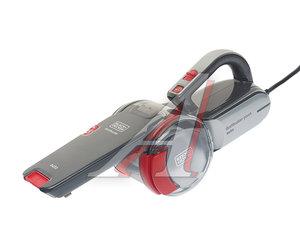 Пылесос автомобильный 12V мощность всасывания 12.5W в прикуриватель (3 насадки) BLACK & DECKER PV1200AV-XK