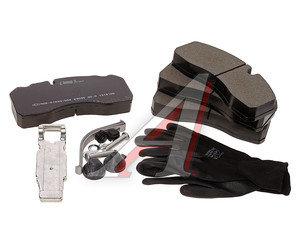 Колодки тормозные BPW MAN MERCEDES SAF (без выточки под датчик АБС) (4шт.) LUMAG 290950090110, 29165/29096/29093/29094/675181, 0004210710