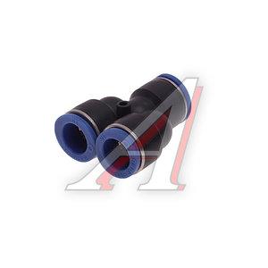 Соединитель трубки ПВХ,полиамид d=15мм тройник PY15