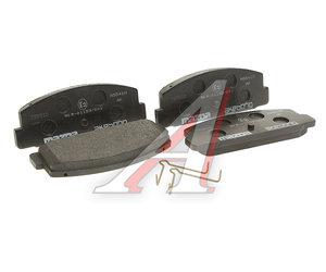 Колодки тормозные MAZDA 323,626,6 задние (4шт.) OE GJYB-26-48Z-9C, GDB3088