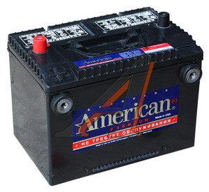 Аккумулятор AMERICAN 95А/ч 4 клеммы 6СТ95 78DT850, 80274