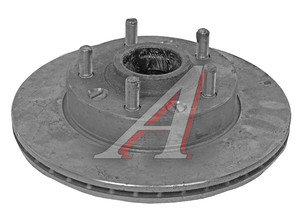 Ступица ГАЗ-2217 передняя с тормозным диском в сборе (ОАО ГАЗ) 2217-3103010