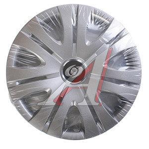 Колпак колеса R-15 серый комплект 4шт. 317 R-15