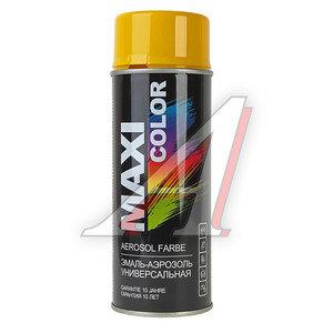 Краска желтая аэрозоль 400мл MAXI COLOR MAXI COLOR 1021, 1021MX