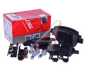 Колодки тормозные VW Golf 6,Jetta AUDI A1,A3 SKODA Octavia,Superb (10-) задние (4шт.) TRW GDB1841, 5K0698451/5K0698451A