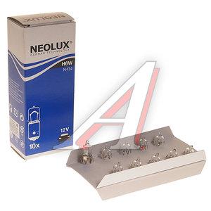 Лампа 12V H6W BAX9s NEOLUX N434, NL-434