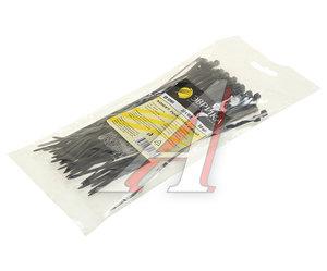 Хомут-стяжка 160х3.0 пластик черный (50шт.) ЭВРИКА ER-13161, CHS-3x160B-50
