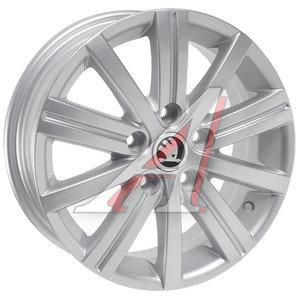 Диск колесный литой VW Jetta SKODA Oсtavia (07-) R15 SK41 S REPLICA 5х112 ЕТ47 D-57,1