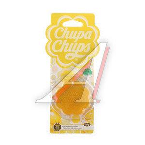 Ароматизатор подвесной гелевый (лайм-лимон) CHUPA CHUPS CHP502